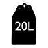20L Capacity